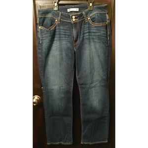 Levi's Curvy Straight Jeans